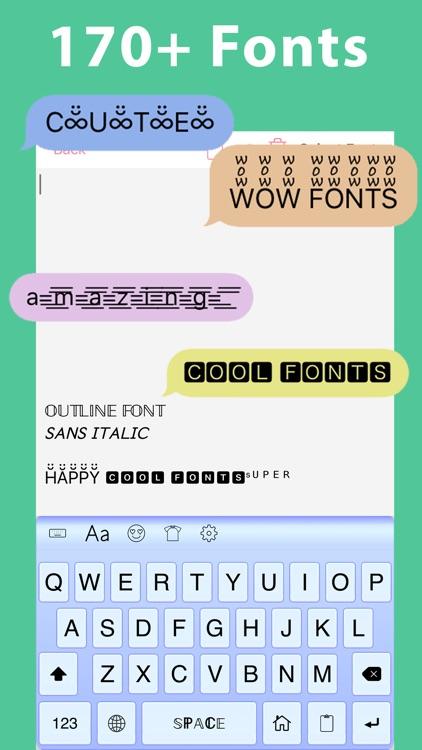 Symbol Infinity: Font Keyboard screenshot-0