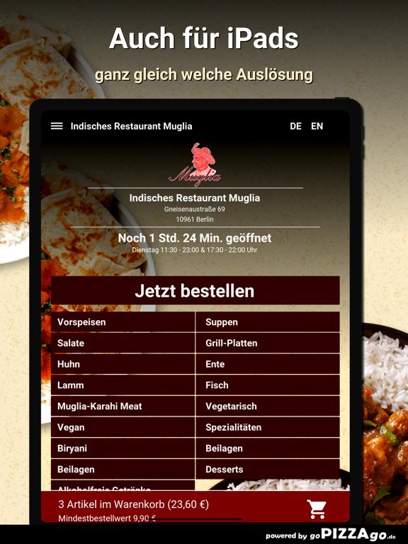 Indisches Restaurant Muglia screenshot 7