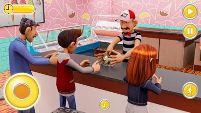Super Happy Grandpa Family Sim Screenshot on iOS