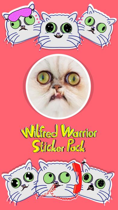 Wilfred Warrior Stickers screenshot 1