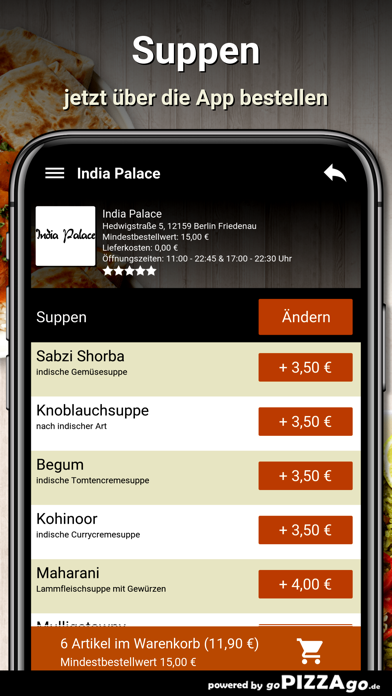 India Palace Berlin Friedenau screenshot 5