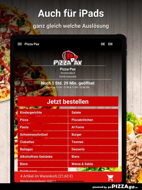Pizza Pax Gütersloh screenshot 7