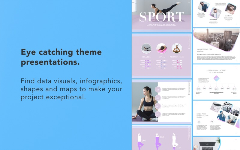 Templates for Keynote - DesiGN Screenshots