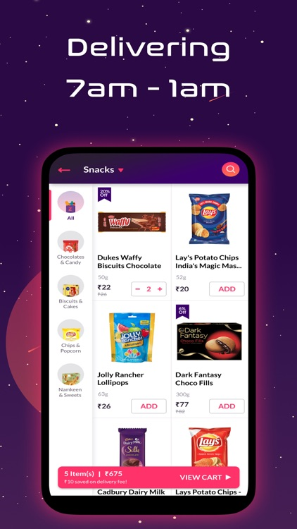 Zepto: 10 Min Grocery Delivery screenshot-3