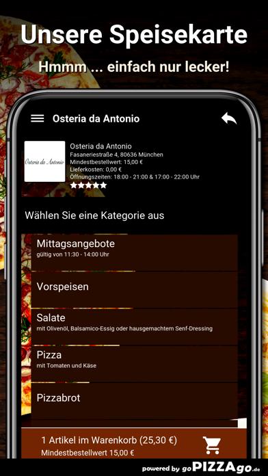 Osteria da Antonio München screenshot 4
