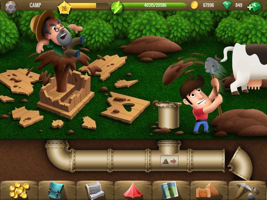 Diggy's Adventure: Puzzels iPad app afbeelding 2
