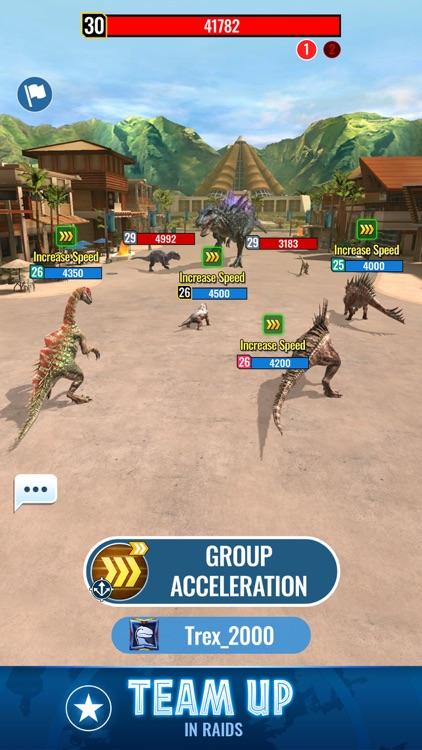 Jurassic World Alive screenshot-3