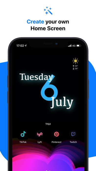 Vega - Themes, Icons & Widgets på PC