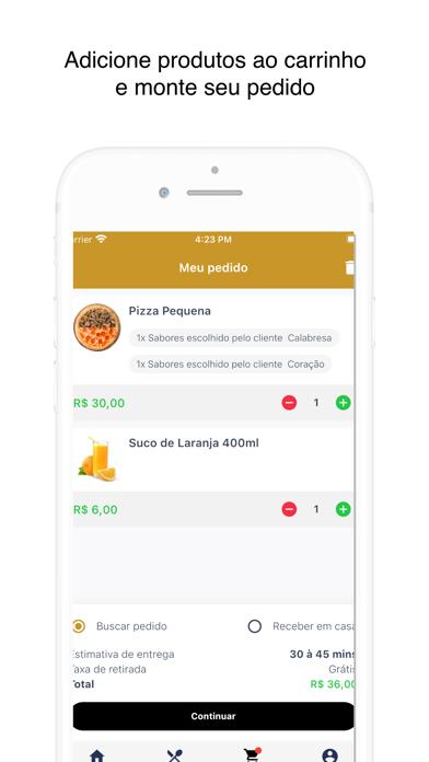 Pastta de Ouro Pizzaria screenshot 4