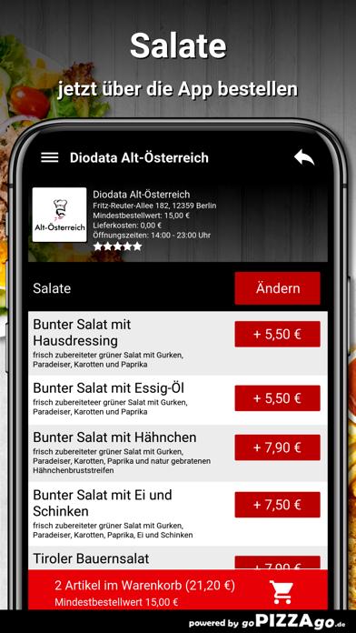 Diodata Alt-Österreich Berlin screenshot 5