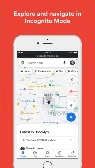 Screenshot 2 of Google Maps App