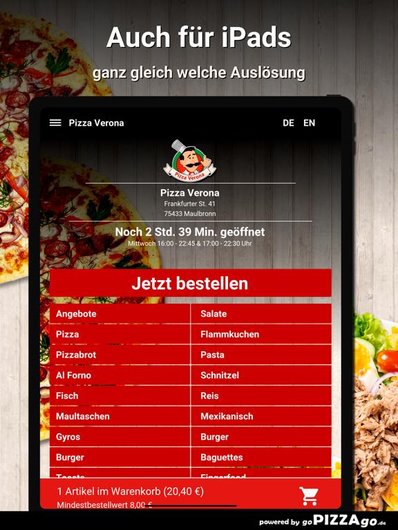 Pizza Verona Maulbronn screenshot 7