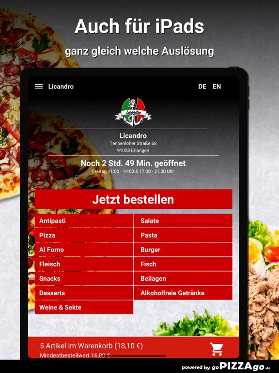 Licandro Erlangen screenshot 7