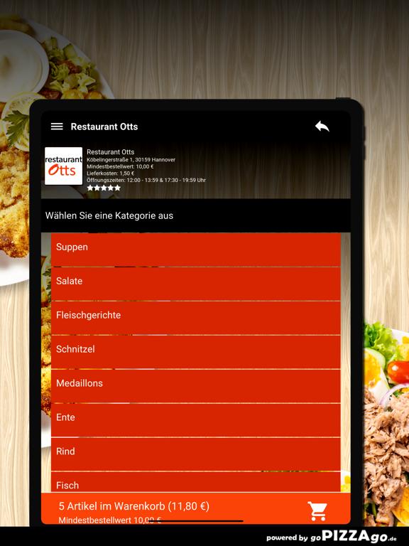 Restaurant Otts Hannover screenshot 8
