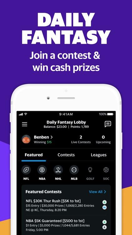 Yahoo Fantasy Football & Daily screenshot-3
