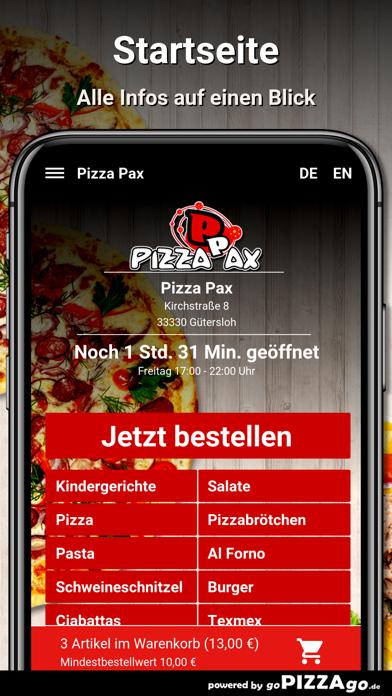 Pizza Pax Gütersloh screenshot 4