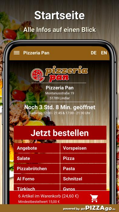 Pizzeria Pan Lindlar screenshot 2