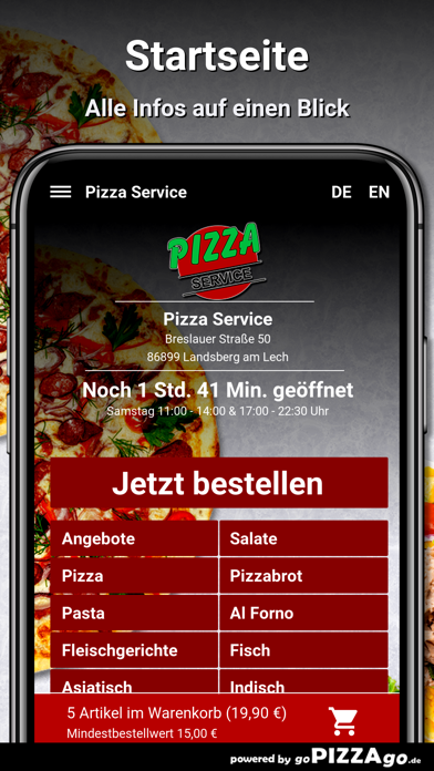 Pizza Service Landsberg screenshot 2