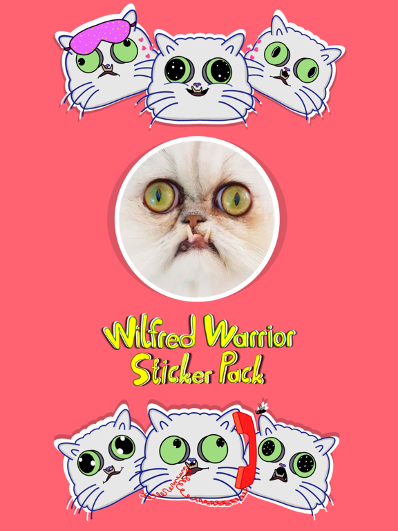 Wilfred Warrior Stickers screenshot 8