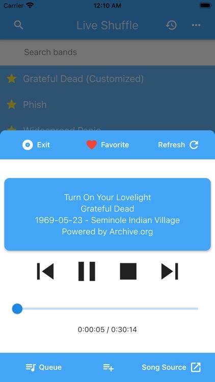 Live Shuffle screenshot-5