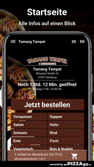 Tamang-Tempel Hamburg screenshot 2