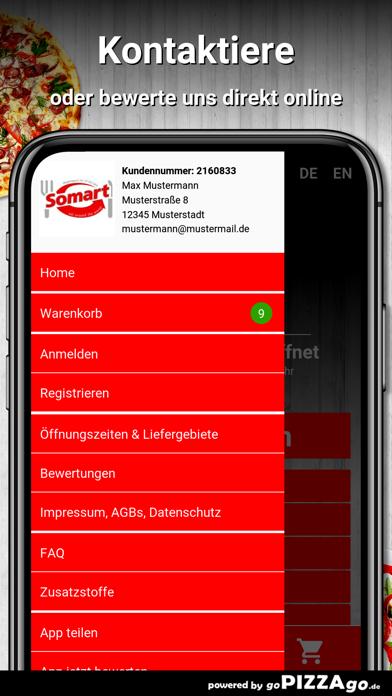 Somart Pizza Jena screenshot 3