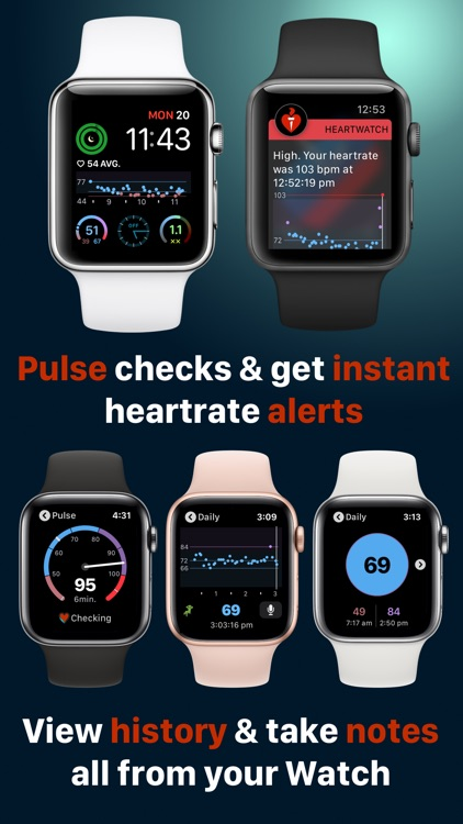 HeartWatch: Heart Rate Monitor screenshot-4