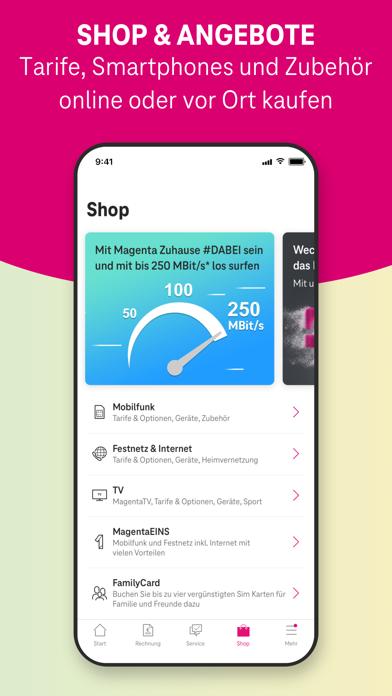 MeinMagenta: Handy & FestnetzScreenshot von 5