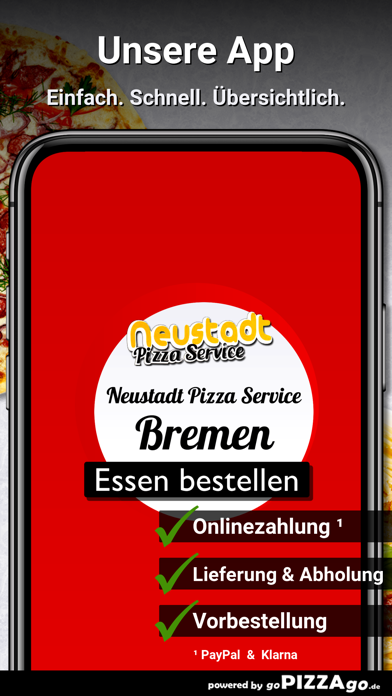 Neustadt Pizza Service Bremen screenshot 1