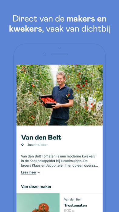 Crisp supermarkt iPhone app afbeelding 2