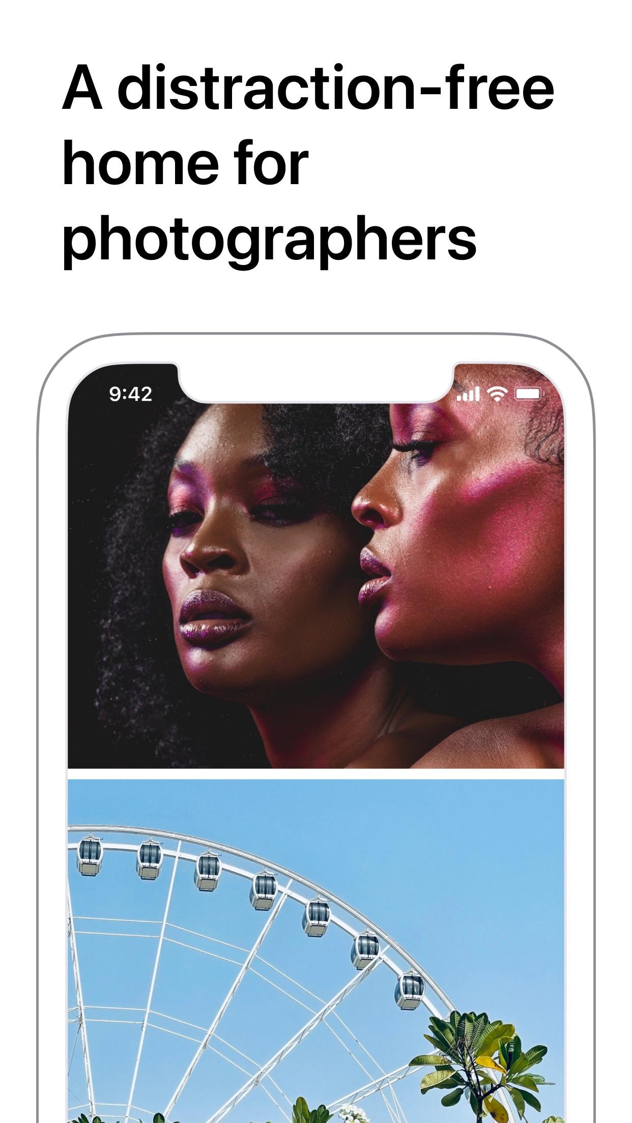 Screenshot do app Glass - Photography Community