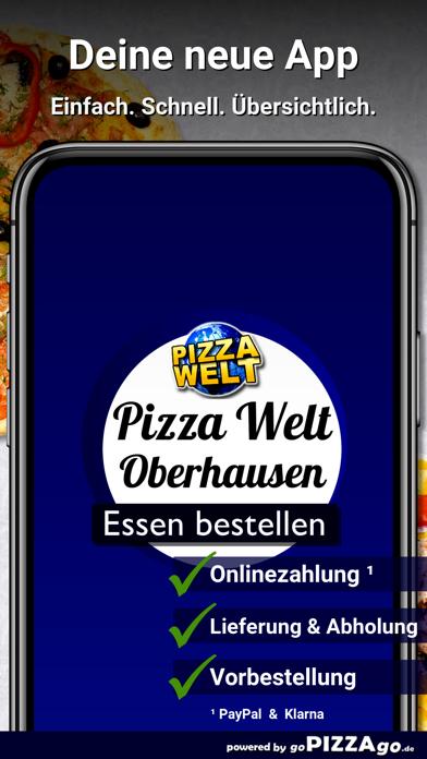 Pizza-Welt Oberhausen screenshot 1