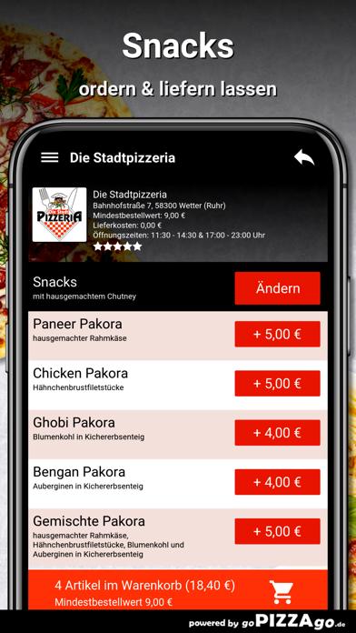 Stadtpizzeria Wetter (Ruhr) screenshot 6
