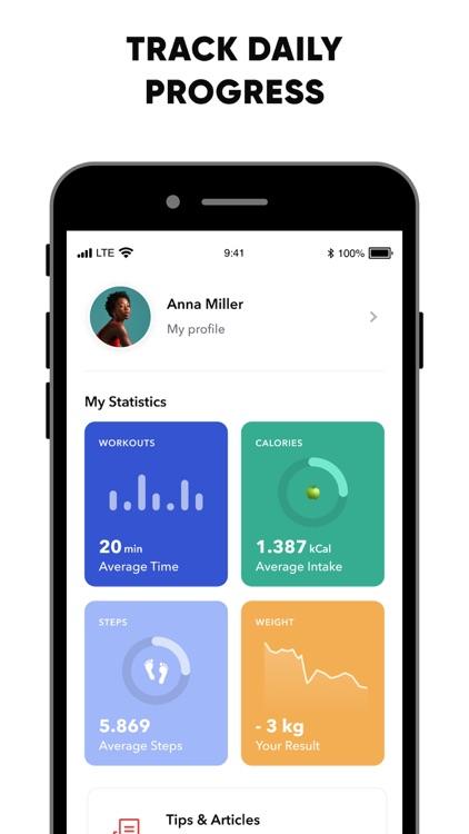BetterMe: Home Workouts & Diet screenshot-5