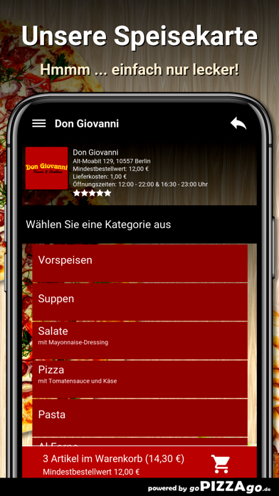 Don Giovanni Berlin screenshot 4