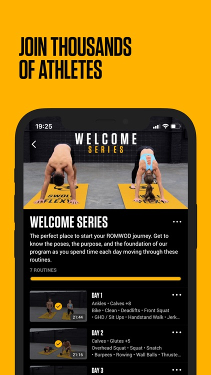 ROMWOD - mobility + recovery screenshot-6