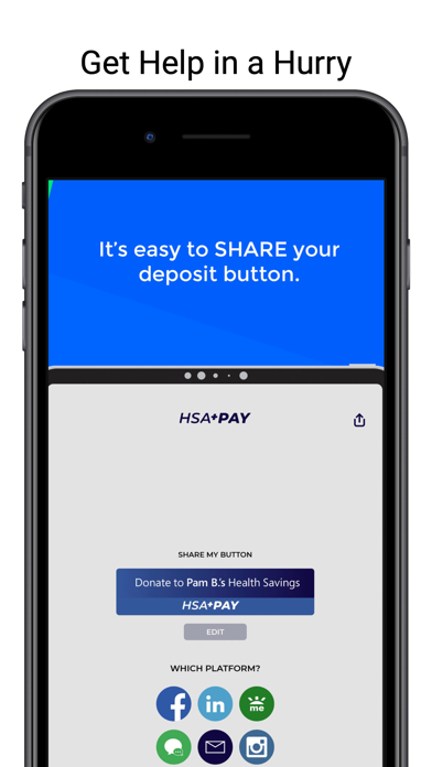 HSA Pay Screenshot