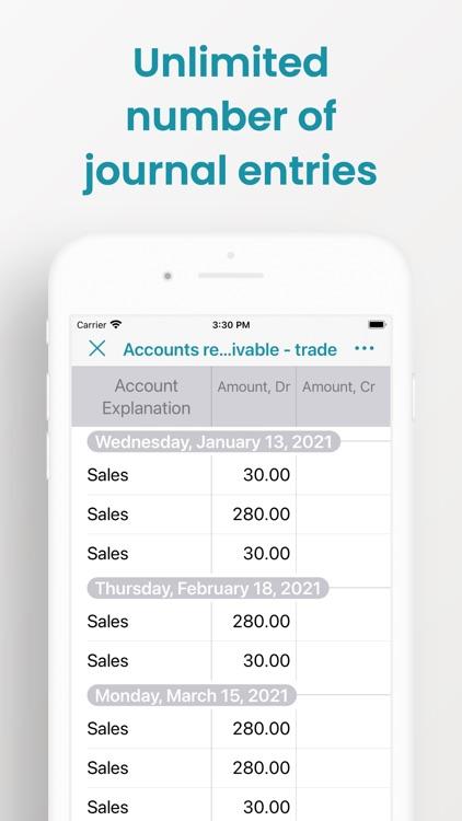 Mafin - Smart Accounting Book screenshot-4