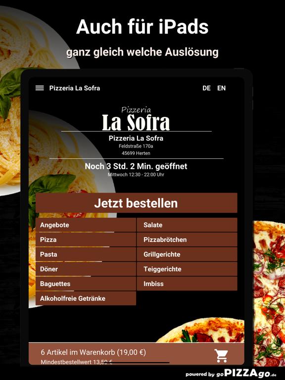 Pizza-Florenz Kassel screenshot 7
