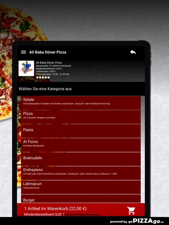 Ali Baba Döner Pizza Schönheid screenshot 8