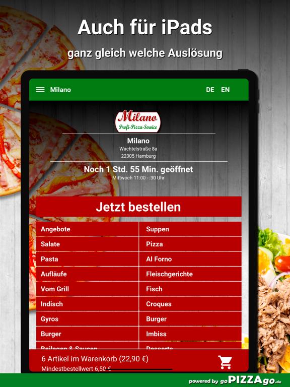 Milano Hamburg screenshot 7