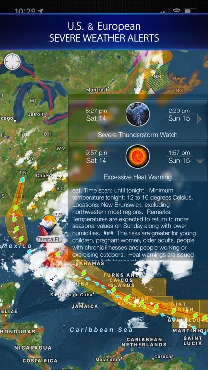 Cyclone - hurricane tracker