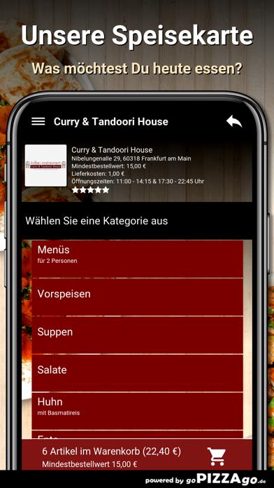 Curry&Tandoori House Frankfurt screenshot 4