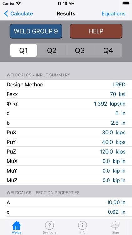 WeldCalcs screenshot-3