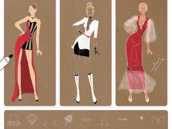 ファッション・デザイナー・スケッチのおすすめ画像4