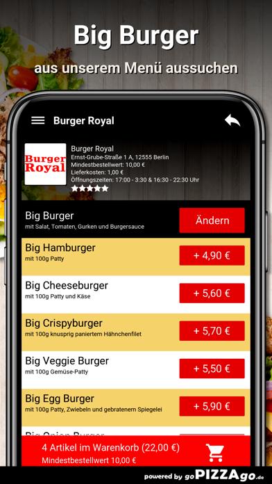 Burger Royal Berlin screenshot 5