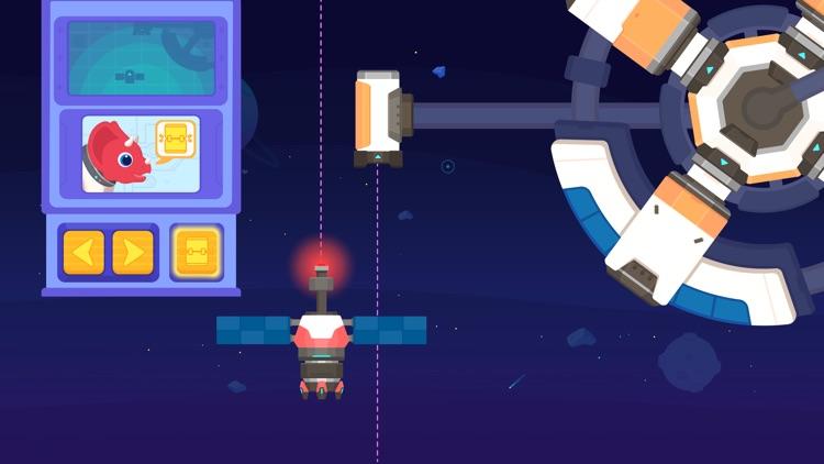 Dinosaur Rocket Games for kids screenshot-5