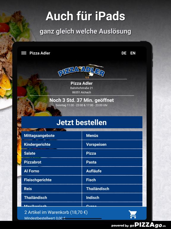 Pizza-Adler Aichach screenshot 7