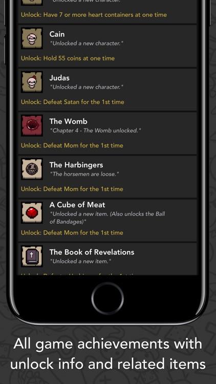 Guide for Binding of Isaac screenshot-7