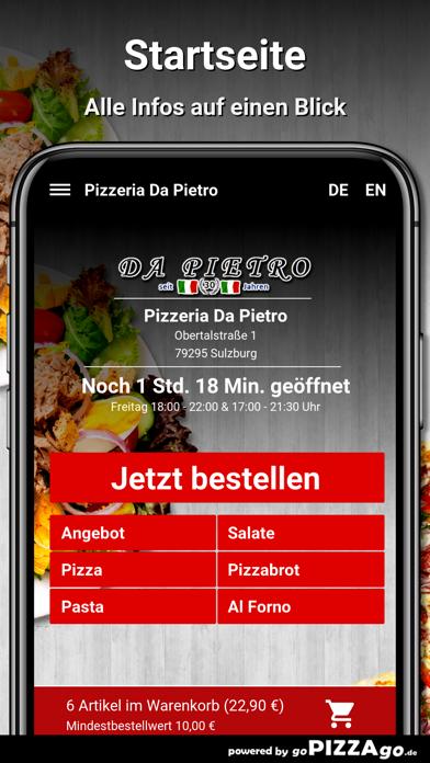 Pizzeria Da Pietro Sulzburg screenshot 3